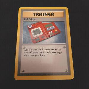 4th PRINT Pokedex Trainer Pokemon Card Lot FOURTH 1999-2000