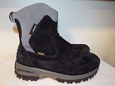 Merrell Tundra waterproof  womens Winter boots size 7, EUC, #578258, Black