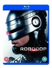 Robocop Trilogy Remastered Blu-ray Region DVD 5039036068581