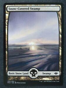Snow-Covered Swamp 252/254 Full Art - Mtg Magic Cards #BM