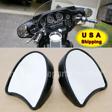 USA Fairing Mount Rear View Mirror For Harley Davidson Electra Glide 1996-2013