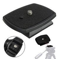 KQ_ Tripod Quick Release Plate Screw Adapter Mount Head For Digital Camera DSLR
