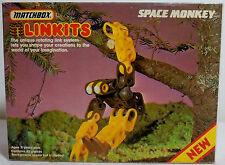 MATCHBOX VTG 1984 LINKITS SPACE MONKEY 45 PIECES RARE MIP UNUSED CONTENTS
