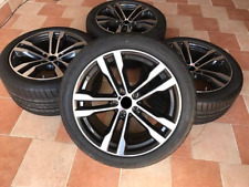 """New 4x 20"""" INCH alloy wheels for BMW X5 E70 F15 X6 F16, 468 style + summer tyres"""