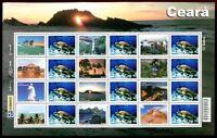 Brasilien Brazil 2009 Ceara Tourismus Tourism 3661-3672 Postfrisch MNH