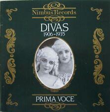 DIVAS 1906 - 1935 -  CD