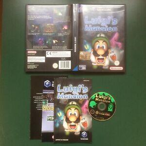 Nintendo GameCube Luigi's Mansion PERFETTO versione ITALIANA