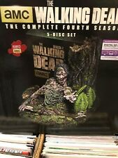 The Walking Dead: Season 4 (Blu-ray Disc, 2014, 5-Disc Set, Limited Edition...