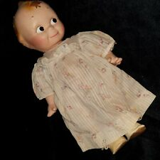 """Antique Kewpie Rose O'Neil Composition Doll 12.75"""" Vtg clothes, shoes Unmarked"""