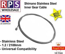 SRAM / Shimano Mountain Bike Gear Cable 1.2x2100mm Stainless Steel