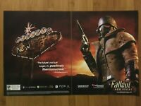 Fallout: New Vegas Xbox 360 PS3 PC 2010 Print Ad/Poster Official Promo Art Rare