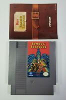 Tombs and Treasure NES Nintendo with MANUAL and Hard Case - TESTED Infocom