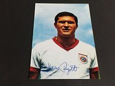 Hans Rigotti FC bayer munich signed photo 10x15