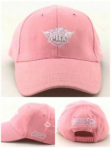 Phoenix Suns New Reebok NBA Lil' Infant Baby Pink Girls Era Flex Fit Hat Cap