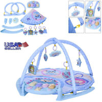7 in 1 Soft Baby Gym Play Mat Fitness Kick Musical Piano Activit Exercise Fun US