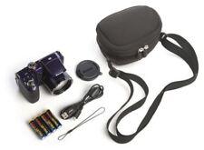 Kodak Z5120 16MP Digital Camera w/ 26X 26–676mm Optical Zoom Case Purple NEW