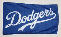 Los Angeles Dodgers Banner 3x5 Ft Flag Man Cave World Series MLB Baseball Sports