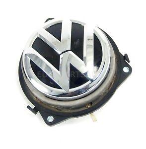 2012 - 2017 Volkswagen Beetle Liftgate Grab HANDLE ACUATOR Trunk Lock EMBLEM OEM