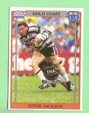 1993  GOLD COAST RUGBY LEAGUE CARD #132  STEVE JACKSON