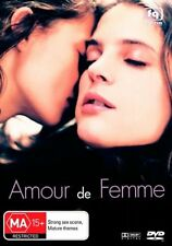 Amour De Femme NEW AND SEALED region 4  DVD (2001 French movie) * rare *