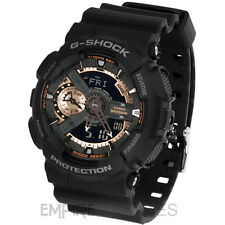 ** NUOVO ** Casio G-Shock da Uomo ROSE GOLD OROLOGIO SPORTIVO-ga-110rg-1a - RRP £ 135