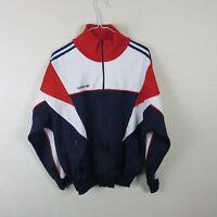 Adidas Vintage Trefoil Logo Zip Up Track Jacket Men's - 7