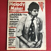 Melody Maker 2 August 1980 Mick Jagger cover