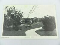 Vintage Columbus Park Herbert G. Wright New York Postcard NY 1908 Posted