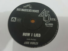 HOW I LIED // JADE HURLEY RARE OZ GARAGE HMV 1965