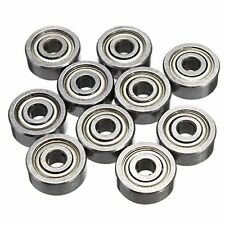 5PCS 623ZZ 3x10x4mm Bearing Miniature Ball Shielded Radial Bearings Silver new