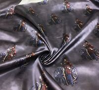 TED BAKER SUPER LUXURIOUS SOLDIER PRINT FABRIC BY  METRES