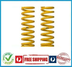 HOLDEN COLORADO RG 4X4 12-ON FRONT RAISED COIL SPRINGS - PAIR