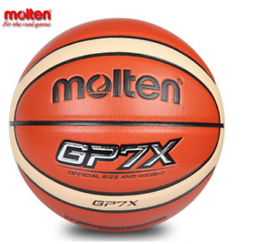 Official Size7 Molten Basketball High Quality Genuine GP7X PU Material Basketbal