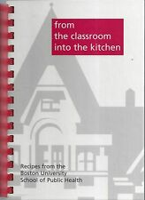 *BOSTON MA 2002 UNIVERSITY SCHOOL OF PUBLIC HEALTH COOK BOOK *STUDENTS & FACULTY