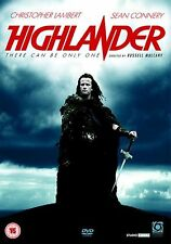 Highlander [DVD] Christopher Lambert, Sean Connery, Clancy Brand New and Sealed