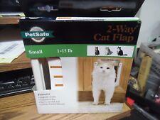 Petsafe 2 way cat flap small 1-15 lb New in box