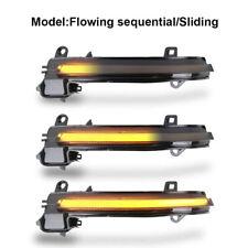 2x Dynamic Side Mirror Turn Signal LED Indicator Lights Fit for BMW F30 F31 UK