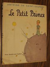 LE PETIT PRINCE (The Little Prince) Saint-Exupery FRENCH 1st Ed (?) 1943 HC DJ