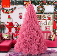 Pink Christmas Tree Ready Dressed With Ornaments 4 5 6 7 ft Holiday Seasonal