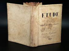 LARRIGAUDIERE Etude Torpilleur Sous-Marin MANUSCRIT ORIGINAL MARINE 280pp 1895
