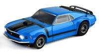 JUST RELEASED!! Tomy AFX Clear Mega G+ Blue Ford Mustang Boss 302 HO Slot Car