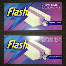 Flash Powermop Absorbing Multi-Surface Pads Refills, Pack of 2