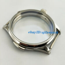 44mm Parnis 316L Stainless Steel Watch Case Fit ETA 6498/6497,Seagull st36  P97
