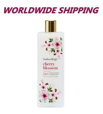 Bodycology Cherry Blossom Body Wash & Bubble Bath 16 Fl Oz Oz WORLDWIDE SHIPPING