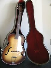 Vintage Silvertone Kay N-3 Large Archtop Arch Top Jazz Box Acoustic Guitar