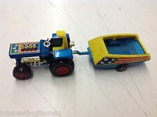 Vintage 1973 Matchbox Lesney Super Kings K-3 Mod Tractor! See Pics!