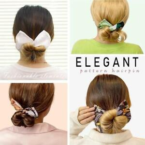 Deft Bun 6 Colors Fashion Hair Bands Women Summer Knotted Wire Headband New