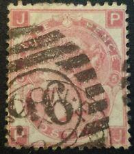 Duzik: Gb Qv Sg102 3d deep rose Plate5 P-J used stamp (No2151)*