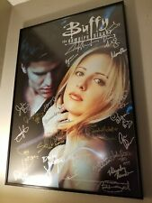 New ListingBuffy The Vampire Slayer Cast Autographed Poster 27x38