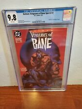 Vengeance of Bane #1 - CGC 9.8 -1st appearance of Bane - 1993 DC Comics